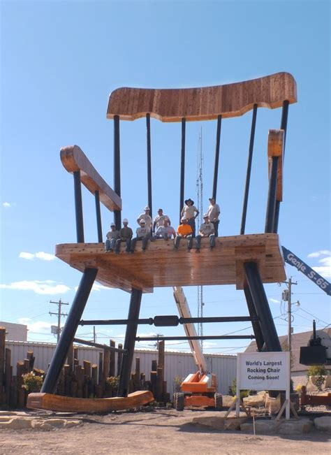 Chairin Top top 25 ideas about world s largest rocking chair on