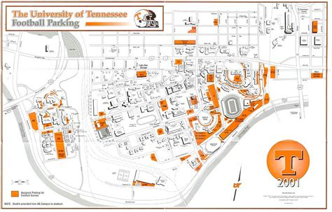 utk map of tennessee parking map wisconsin map