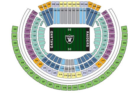 oakland raiders 3d seating adjustment to seating at o co coliseum was overdue