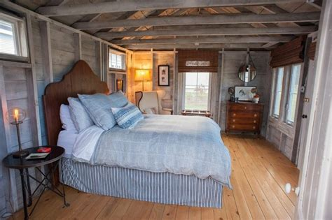 Shed Into Bedroom by Flanagan Farm Portland Maine Farmhouse Bedroom