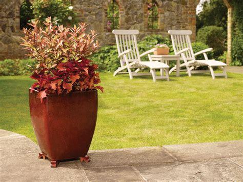 large square apta glazed planter interior