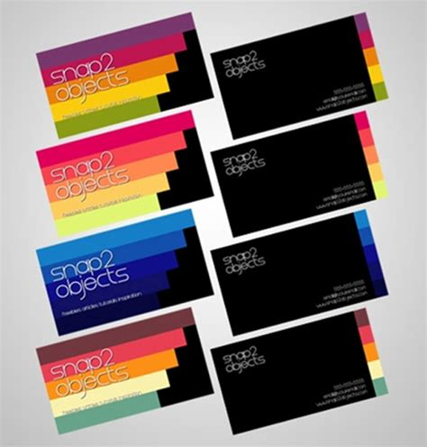 Business Card Template Pack by 125 Free Business Cards Psd For Photoshop Review