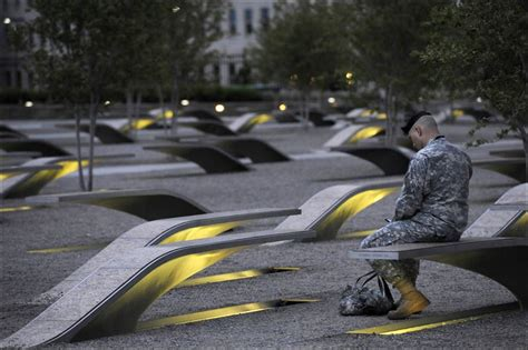 pentagon memorial benches pentagon site offers lessons for the living toledo blade