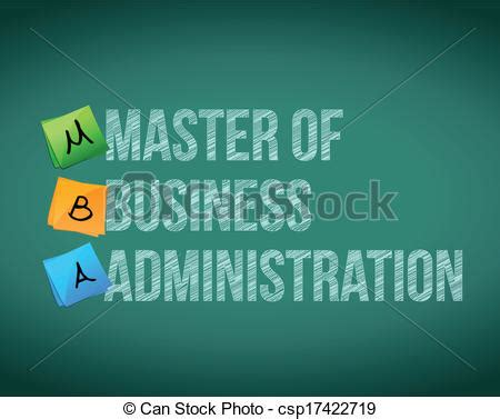 Master Of Arts In Business Administration Mba by Vector Clip Of Master Of Business Administration
