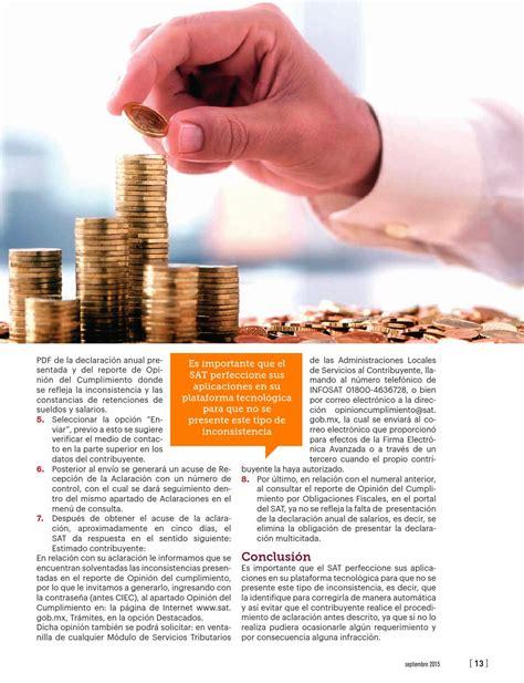 informativa sueldos y salarios 2015 informativa sueldos y salarios 2015