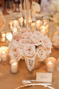 blush and gold centerpieces juliet events llc blush pink centerpiece mercury glass