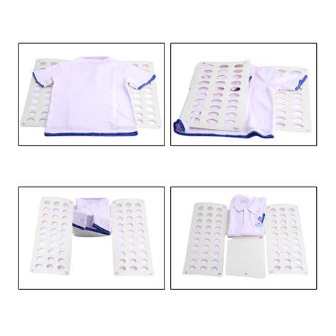 quick fold clothes t shirt folder fast folding board flip fold for