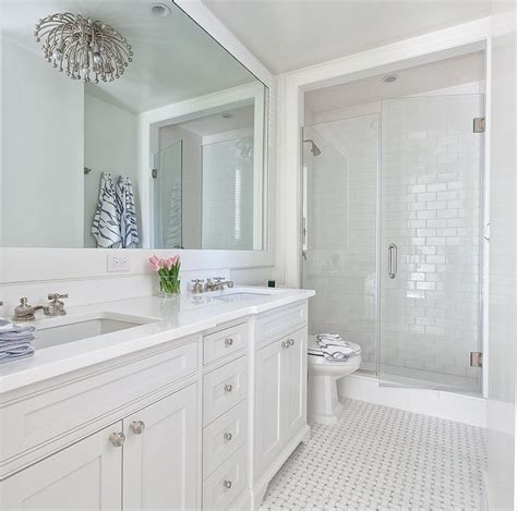 Images Of White Bathrooms by 78 Images About Shower Tile Glass And Of Pearl