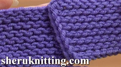 how to undo knitting rows the garter stitch knitting tutorial 6 part 4 of 4 work