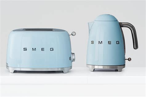 Baby Blue Toaster new to myer smeg the myer