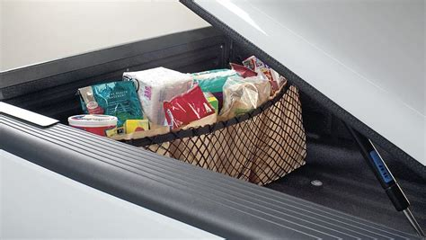 truck bed net truck cargo net under truck tonneau cover