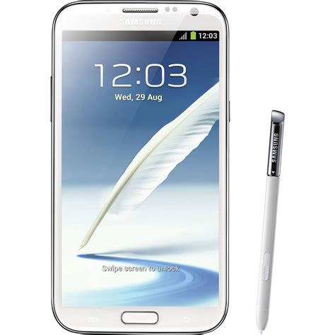 samsung galaxy note 2 sgh i317 16gb at t branded i317 white