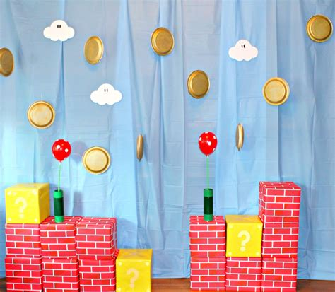 Mario Decorations by How To Plan A Mario Brothers Borealis