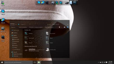 glass themes for windows 8 1 free download dark glass theme for win10 themes visual styles