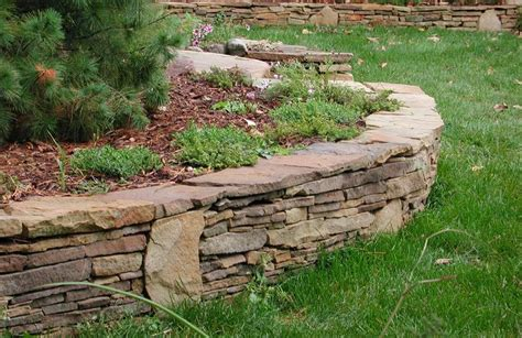 Retaining Wall Ideas Stone Retaining Walls Garden Garden Wall Stones