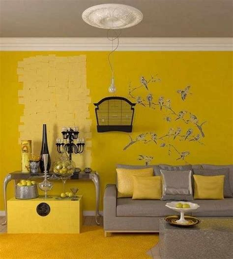 Yellow Walls Grey Ceiling Yellow Room The Grey Ceiling Rec Room