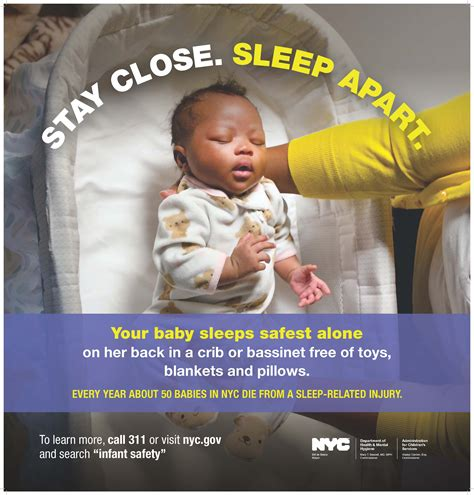 is it safe for baby to sleep in swing mayor de blasio announces safe sleep caign to reduce