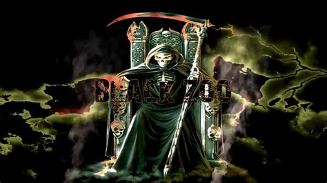 the grim reaper dark evil trance rap