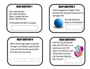 mathematics problem solving questions year 8