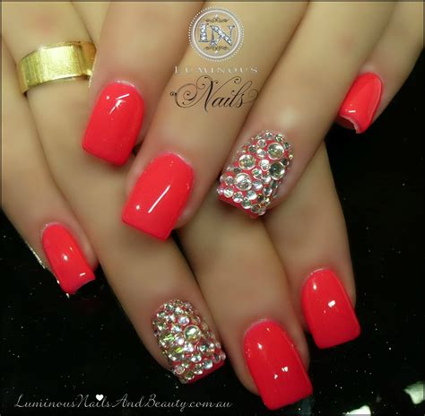 Gel Acrylic Nails by Luminous Nails March 2013