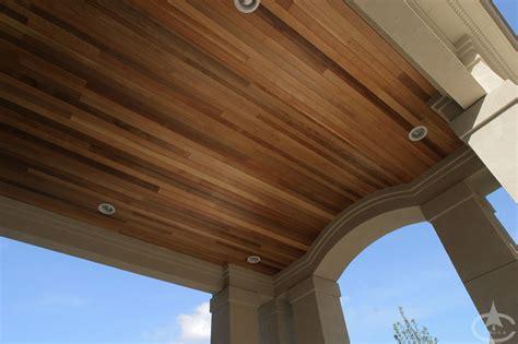 Cedar T G Ceiling by Wood Soffit Images