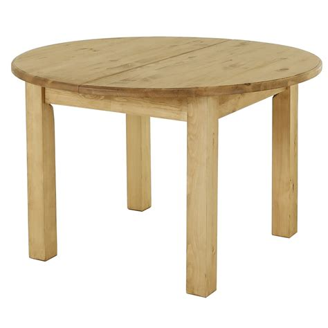 table ronde en pin massif table ronde pin massif extensible 120cm avec rallonge