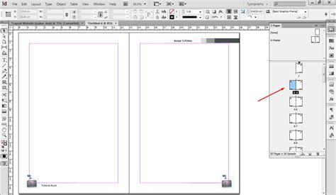 membuat nomor halaman indesign cara membuat layout buku dengan adobe indesign bekerja