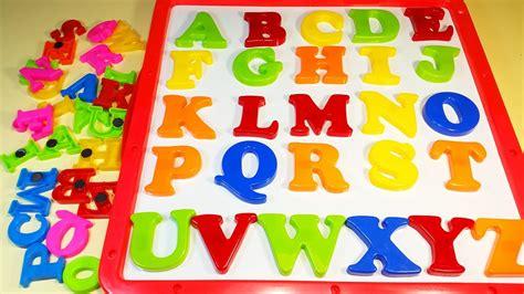 Letter Abcd abcde phonics abc alphabet a b c d e magnetic toys