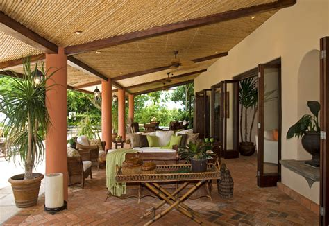 tropical patio furniture tropical patio patio tropical with brick floor ceiling fan