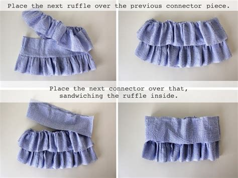 pattern making ruffles how to make ruffled shirt for girls of all ages www
