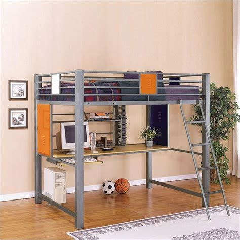 size loft bed with desk ikea ikea loft bed ideas homesfeed