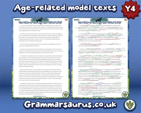 new year information ks2 new year 4 model text narrative grammarsaurus