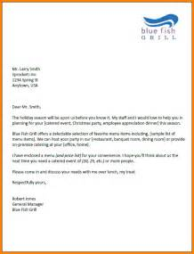 cover letter for catering catering cover letter