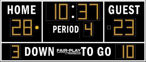 fb 8114 2 fair play scoreboards