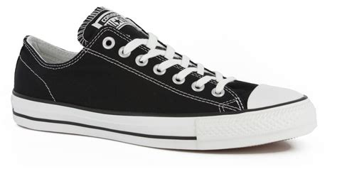 converse chuck all pro skate shoes black