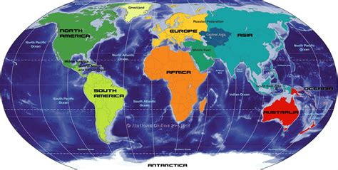 7 continents map printable map of the 7 continents printfree