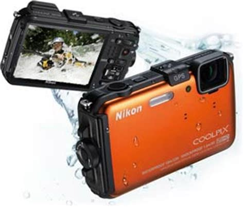 Kamera Underwater Nikon Coolpix Aw100 nikon coolpix aw100 16 mp cmos waterproof digital with gps and hd 1080p