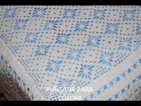 como tejer colchas para bebe colchas a crochet youtube