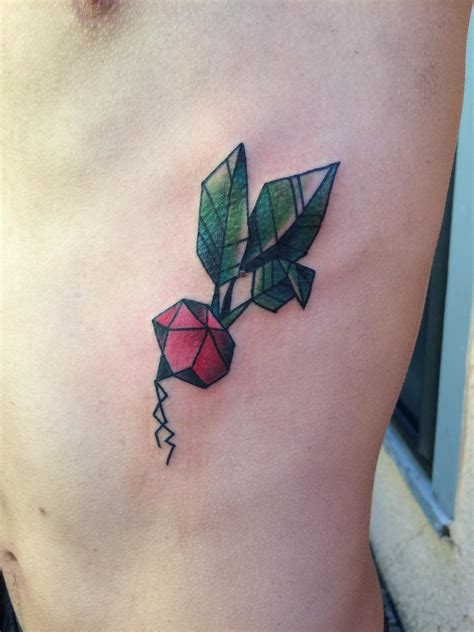 tattoo ann arbor geometric beet by at spiral in