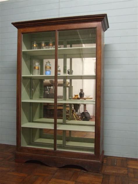 Victorian Mirrored Shop Display Cabinet   Antiques Atlas