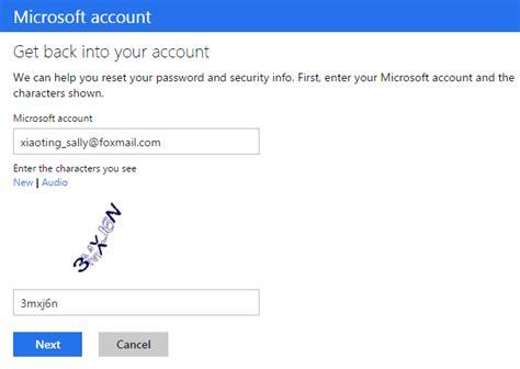 email microsoft account i forgot my microsoft account password in windows 8 isumsoft