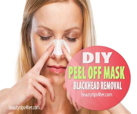peel mask diy diy peel mask blackhead removal to clean pores