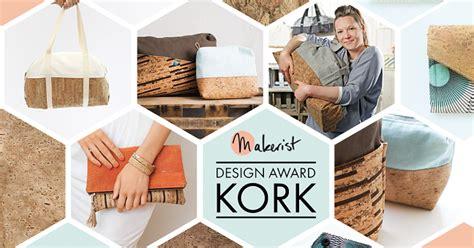 design competition nu stoffsalat makerist design award kork