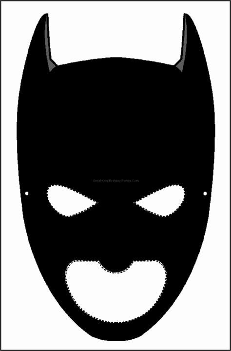 batman face mask template 9 batman mask template sletemplatess