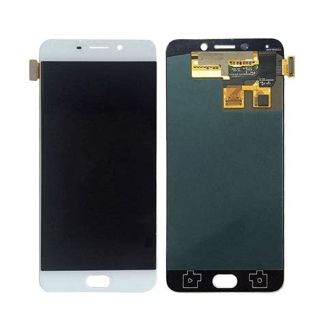 Lcd Oppo 3 A11w Complete With Touchscreen replacement oppo r9 lcd screen touch screen digitizer assembly white alex nld