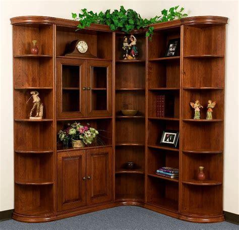 Inside Corner Bookcase Apple Creek Furniture