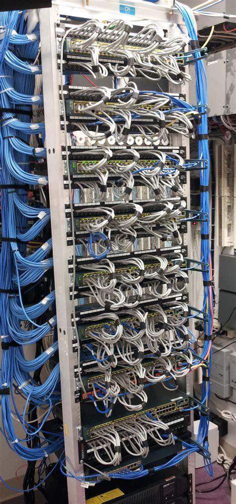 wiring closet network setup cisco support community