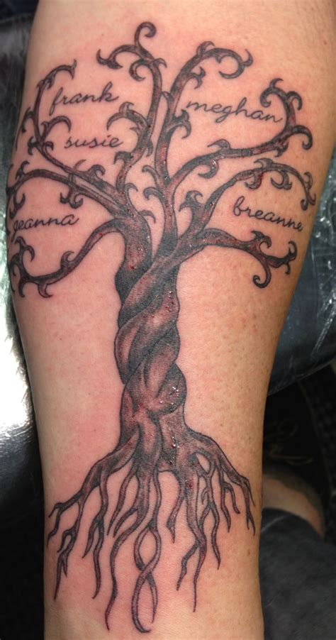 family tattoo on forearm 50 tree tattoo designs for men and women tree tattoo