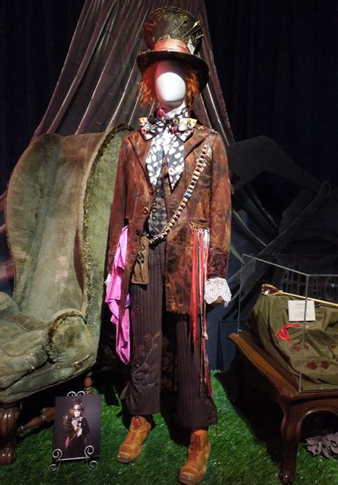 johnny mad original costumes and props from tim burton s in on display