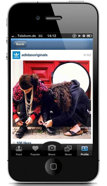 Jual Adidas Original Instagram adidas originals now live on instagram sole collector